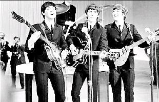 Malvern Gazette: STARS: The Beatles performed at King George's Hall, in June, 1963