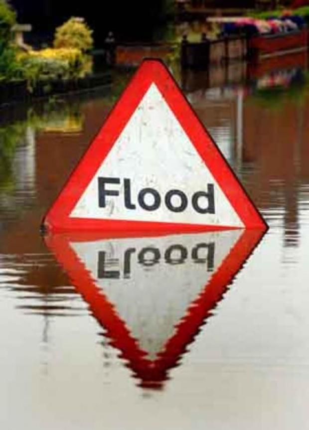 Forecasted heavy rain could cause flooding