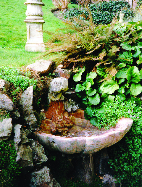 CELEBRATING WATER SOURCES: The Foley Fountain in the grounds of the Mount Pleasant Gateway to the Hills.