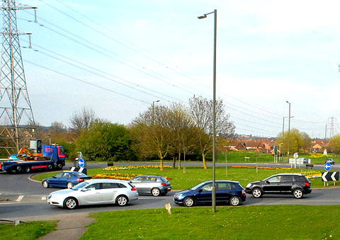 Parish council to keep tabs on controversial traffic island revamp