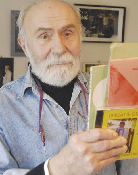 TRIBUTES: Beat poet Dick McBride, who has died aged 84