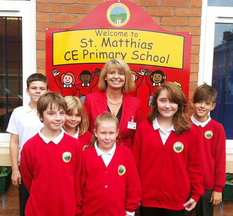MP opens library block at 'delightful' primary school