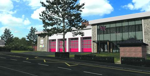 Firefighters back on parade at Malvern's new-look fire station