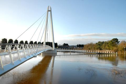 Diglis Bridge, Worcester