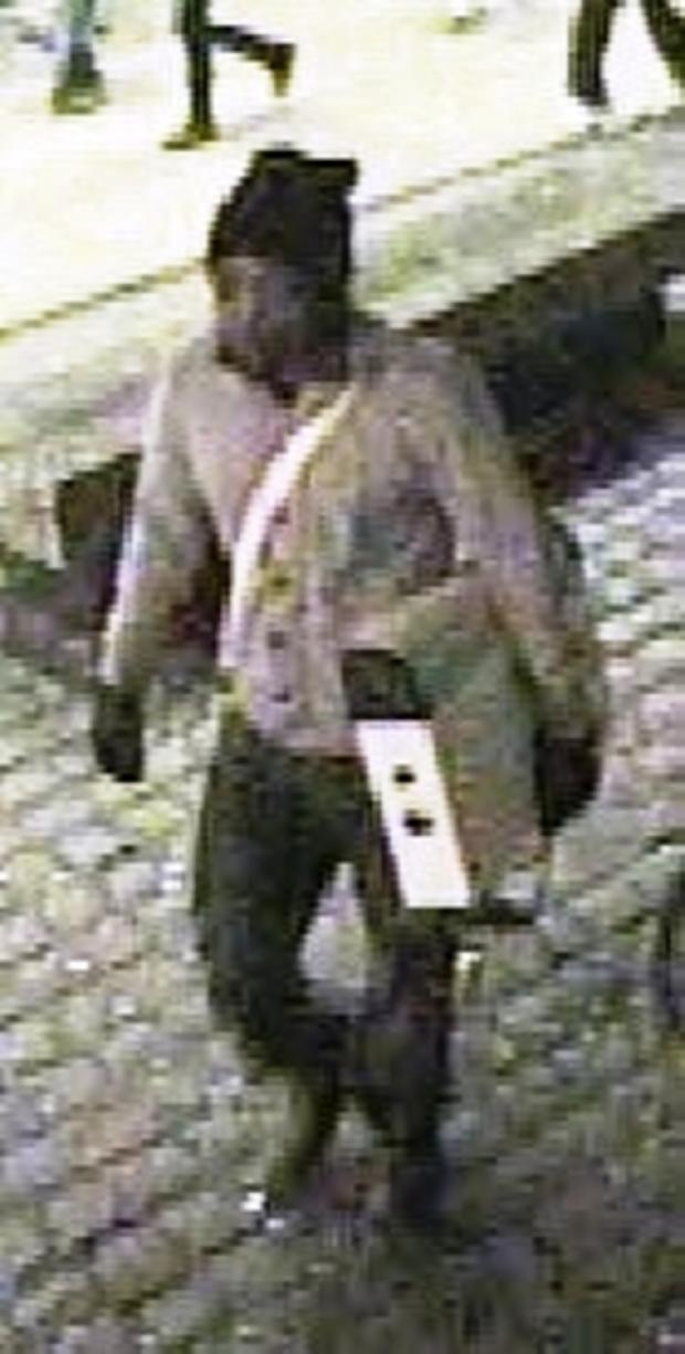 Do you recognise man who stole heater from Great Malvern station?