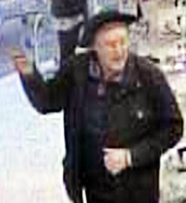 Man wanted over theft of charity tin