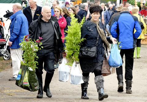 POPULAR EVENT: Crowds at the Malvern Spring Show, which has been voted as the fourth-best horticultural show in the country by readers of Which? Gardening magazine.