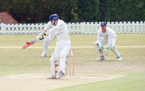 ANDY CULLEN: Was among the indoor runs for Malvern with an unbeaten 26 in their narrow seven-run defeat to Bromsgrove in the Worcestershire Cricket Board Indoor League Division Two.