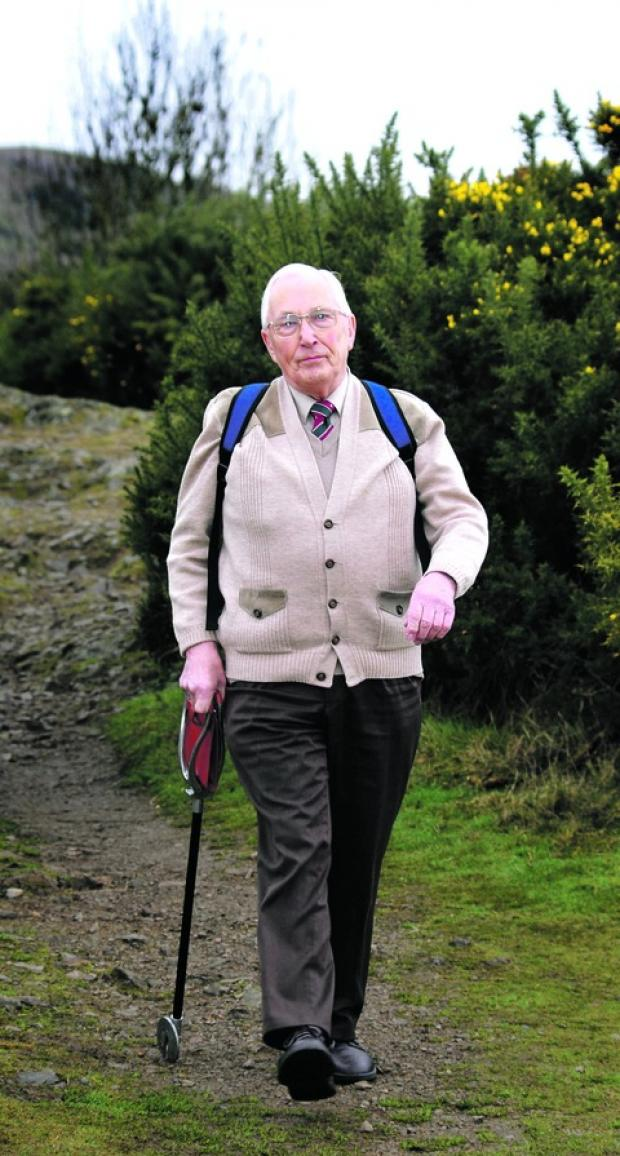 WALK ON: Malvern Walking Festival organiser Ray Roberts.