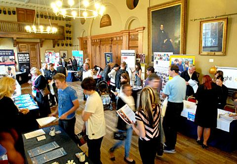 DON'T MISS IT: The jobs and careers fair welcomes new exhibitors and returning stands.