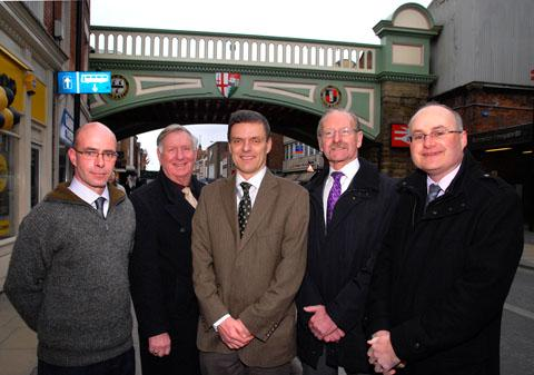 Railway bridge will be 'gateway' to city