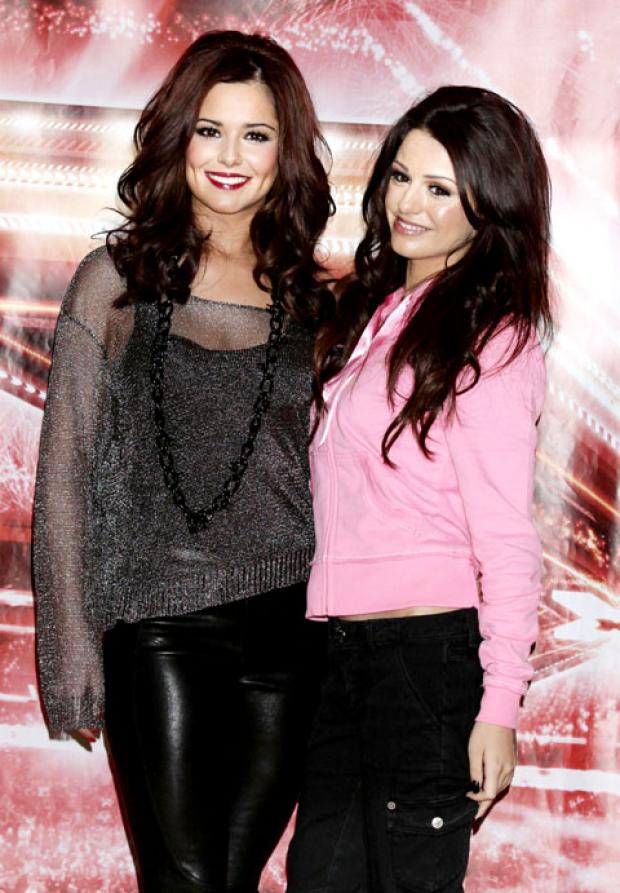 POP STARS: Cheryl Cole, left, and Cher Lloyd.