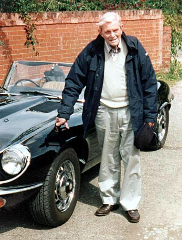 HISTORY: John McVitie owned the E-type jaguar in the 70s.