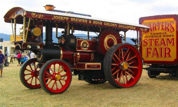 FIFTY! Anniversary year for the Welland Steam Rally
