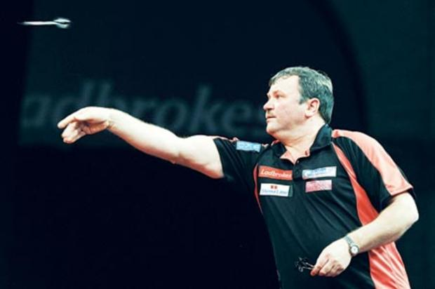 FIGHTING ON: Terry Jenkins is determined to reach a ninth televised final after losing all eight so far.