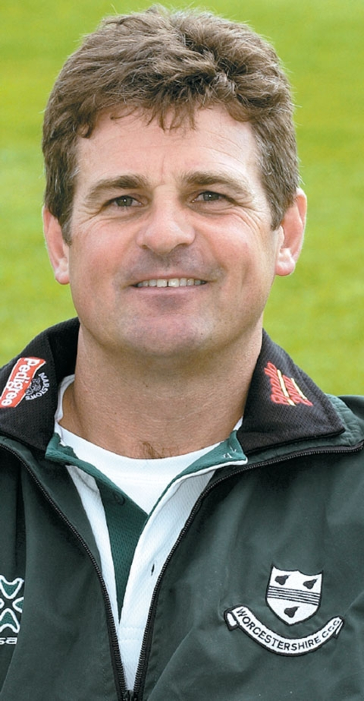 STEVE RHODES: Happy with his bowlers.