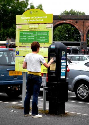 Parking charges are set to rise in Worcester