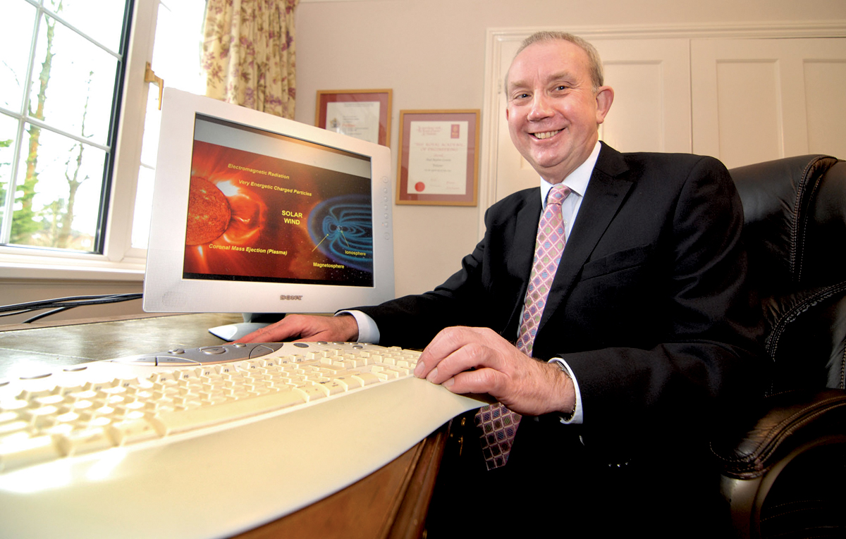 Space pioneer professor awarded OBE