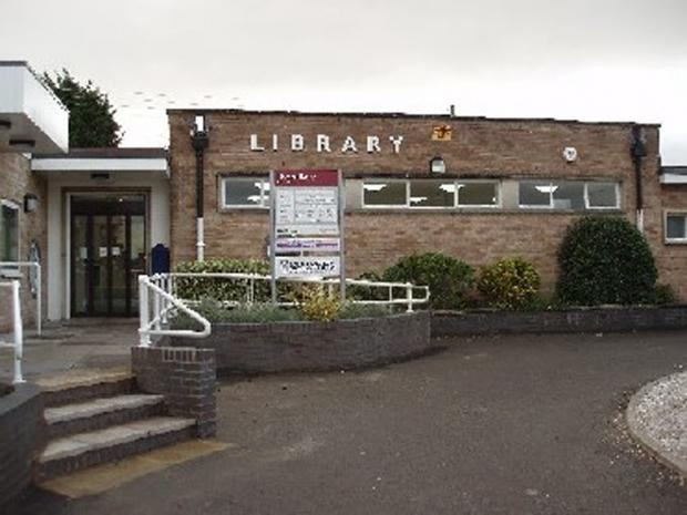 Upton upon Severn library is under threat