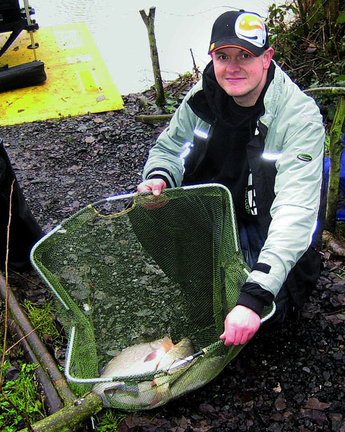 TOP CATCH: For Malvern's Dave Wilkes in a tough fishing contest at Fishponds, Colwall. Picture: DENNIS FLANAGAN