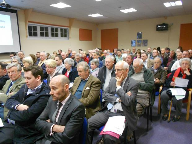 Committee heckled for approving development in Leigh Sinton