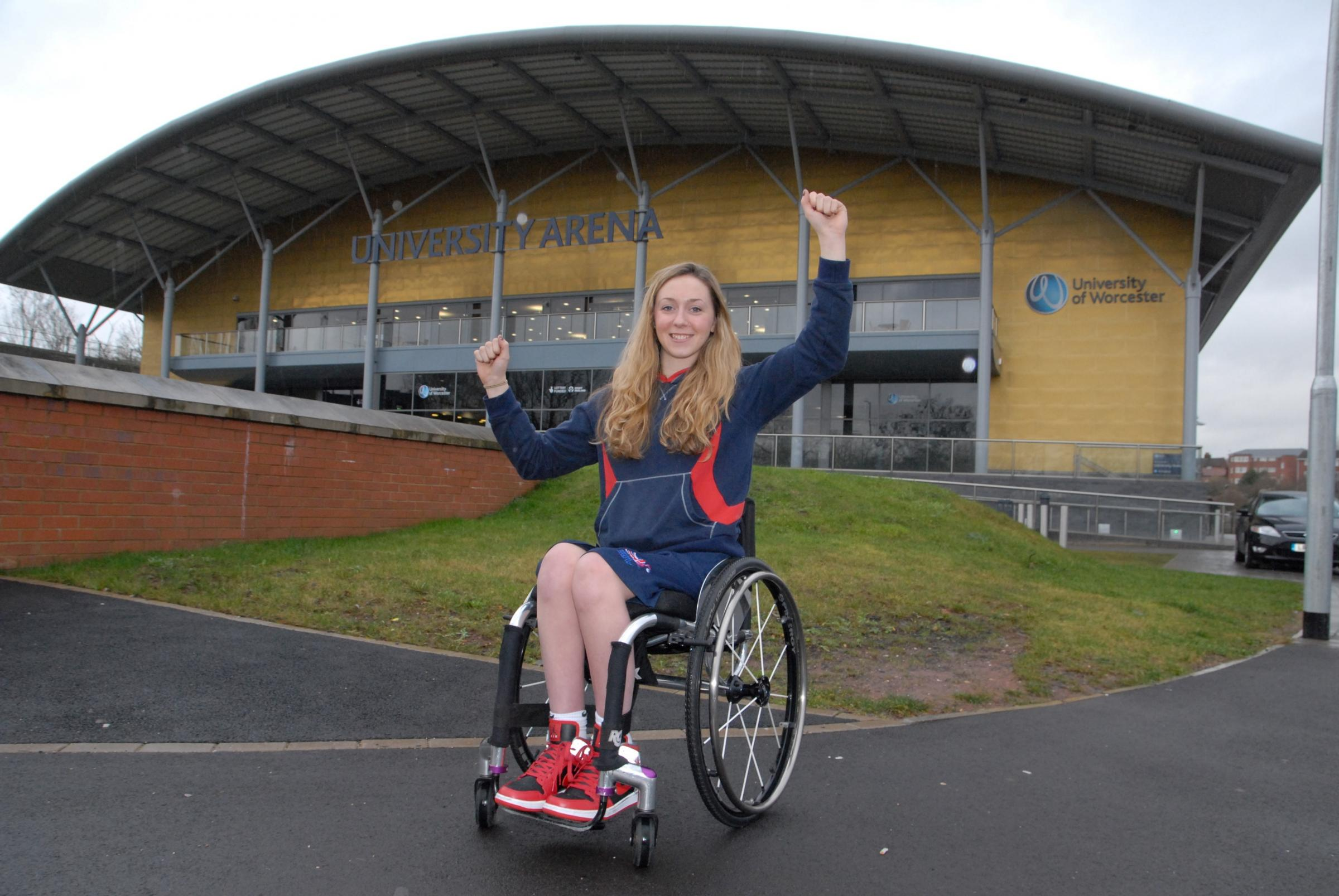 Worcester Arena officially opened by five times paralympian