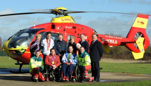 Malvern Gazette: MIDLANDS AIR AMBULANCE SPORTING HEROES LIFE SAVING CHARITY (3838746)