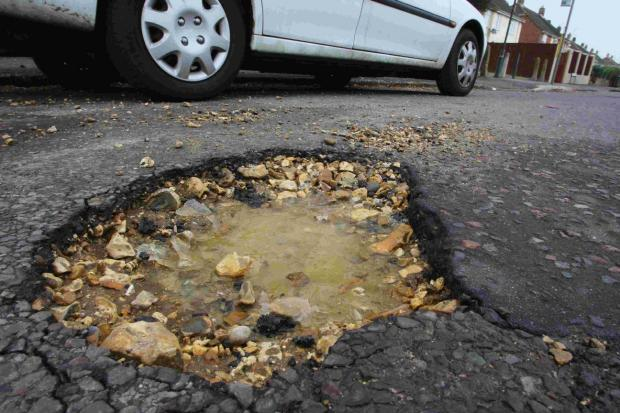 6,400 potholes repaired so far in Worcest