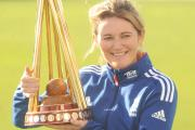 England women's captain Charlotte Edwards.