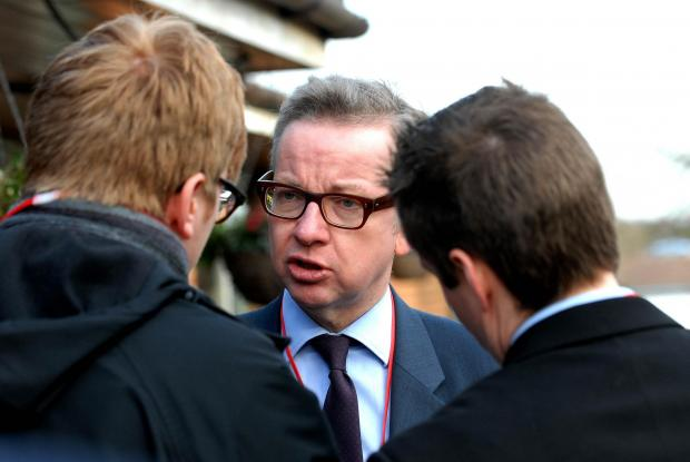 Malvern Gazette: BLANK: Gove failed to find or make public answers
