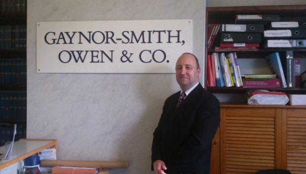 Stephen Climo, head of the private client department to Gaynor-Smith Owen and Co.