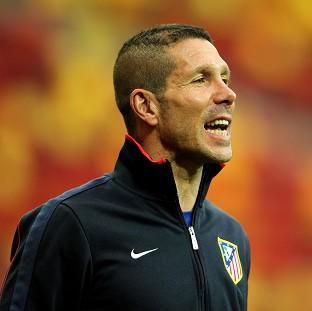 Malvern Gazette: Boss Diego Simeone knows Atletico Madrid will have to face a tough opponent in the Champions League quarter-finals