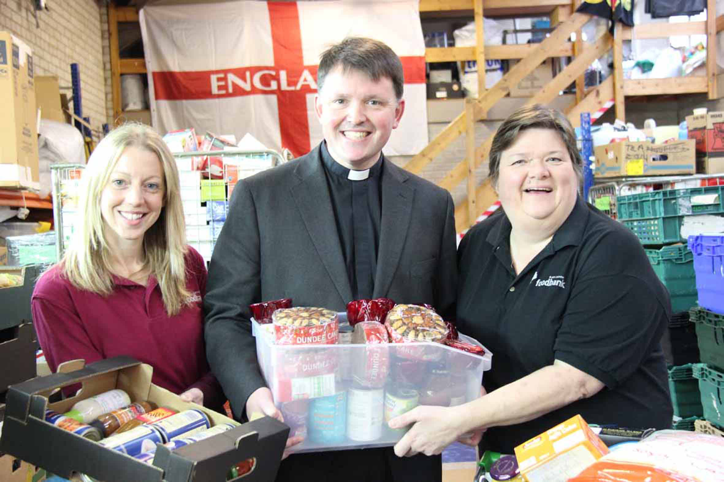Bishop Graham at Black Country Foodbank