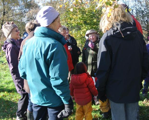 Last year's fungi foray proved a popular event.