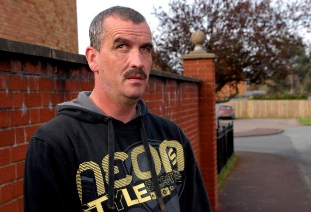 VICTIM: Andy Muxlow fought off robbers but is now scared to leave his own home