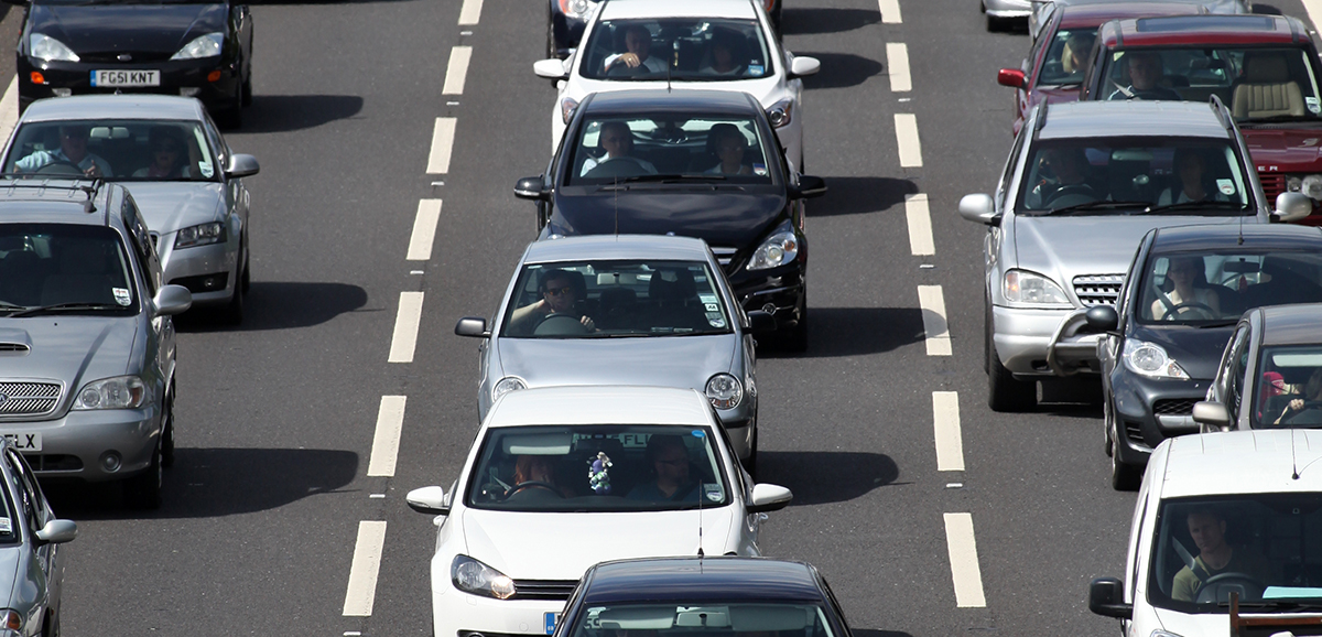 The AA says about 17 million cars could be on the roads this weekend