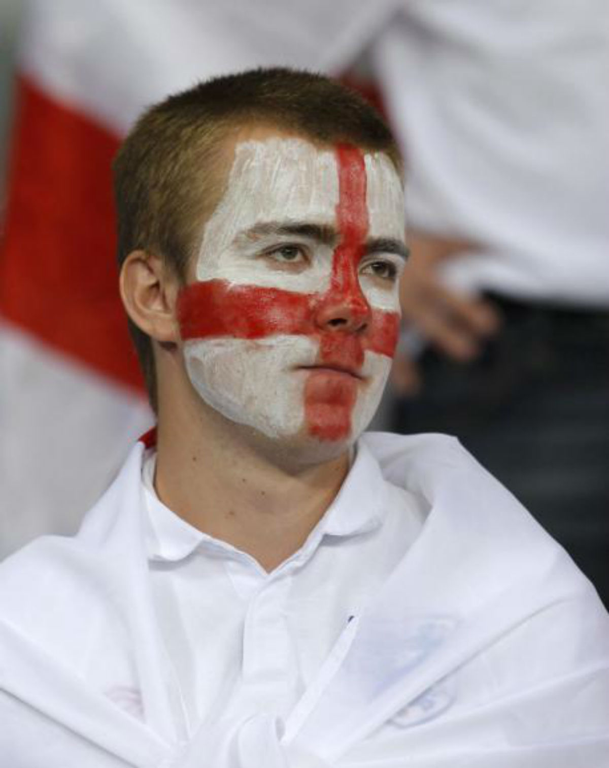 No major disorder in Worcester as England lose first World Cup game 2-1