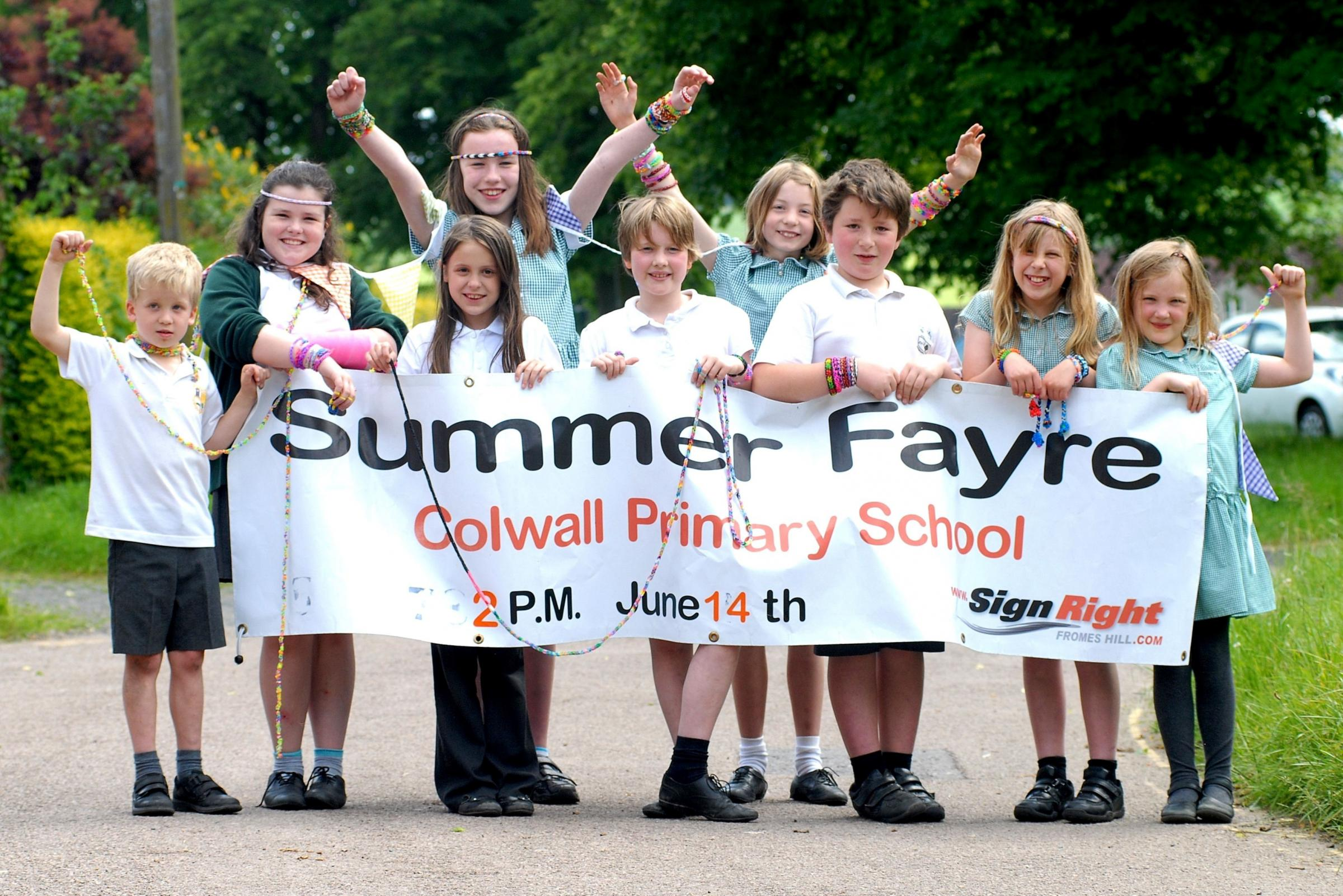 2414620901. Colwall Primary School is holding its summer fair on Saturday, June 14. Picture by Nick Toogood.