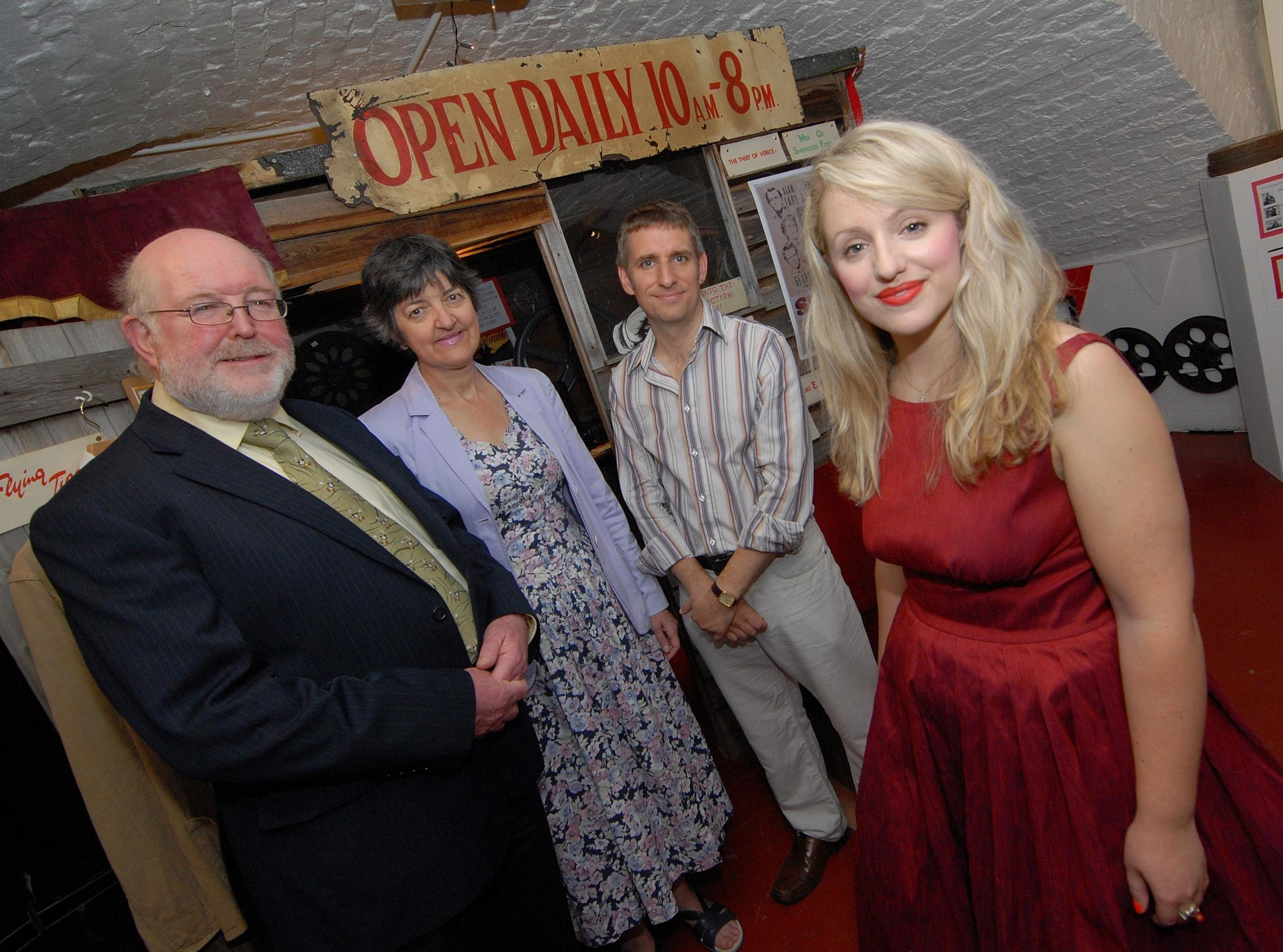 Experience 1950s cinema at exhibition