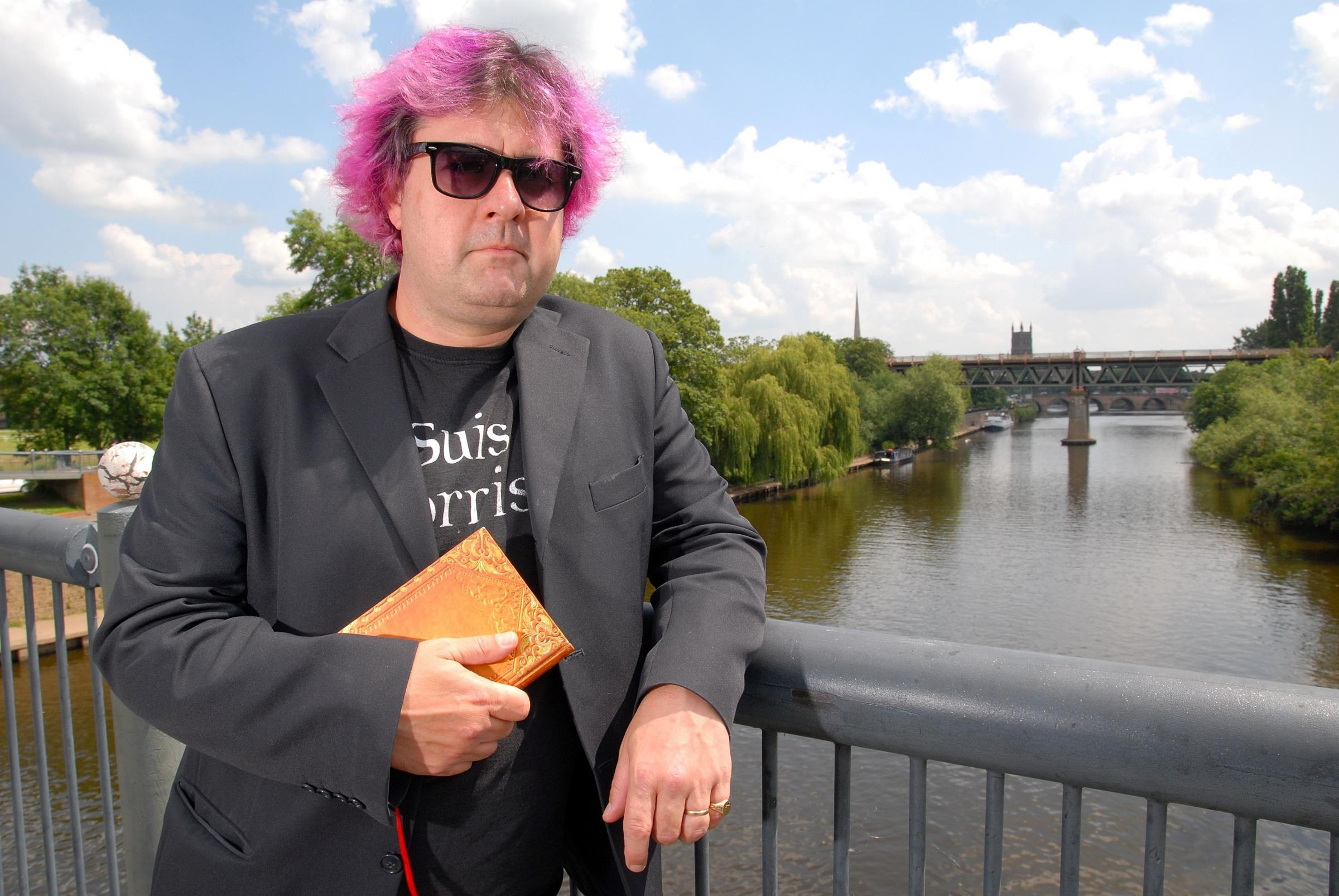 """It's just sinking in!"" - Fergus delighted to be named county's new poet laureate"