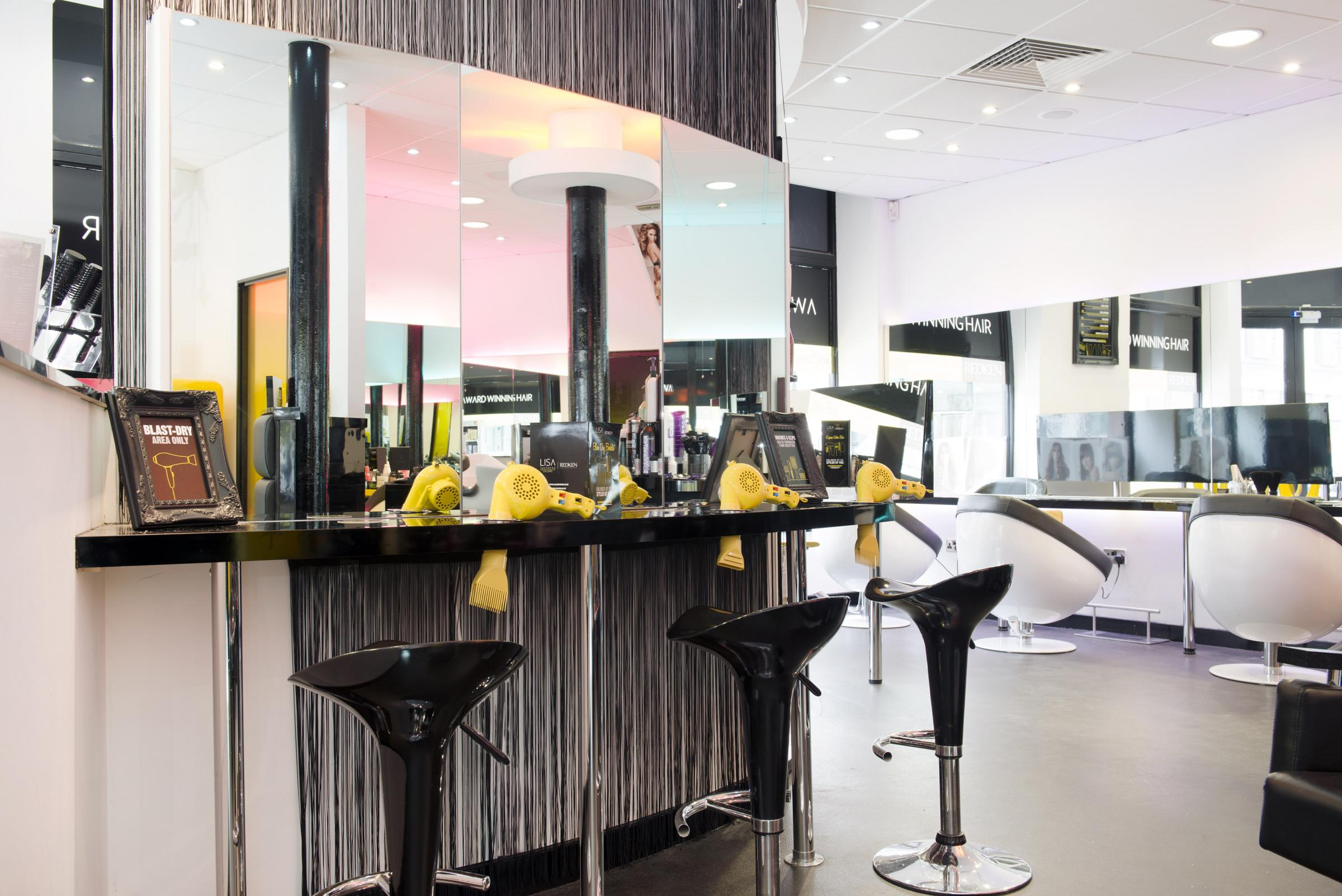 AWARD WINNER: The Color Bar service at award winning Lisa Shepherd salon in Kidderminster.