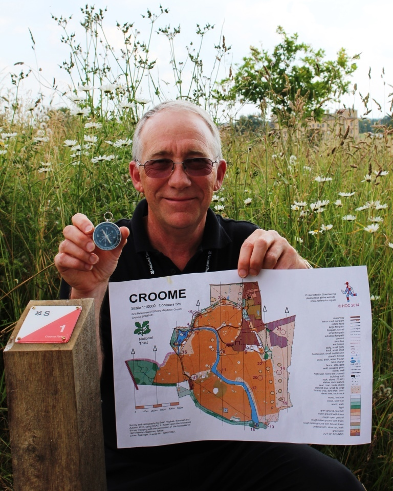 New orienteering trail launching at Croome