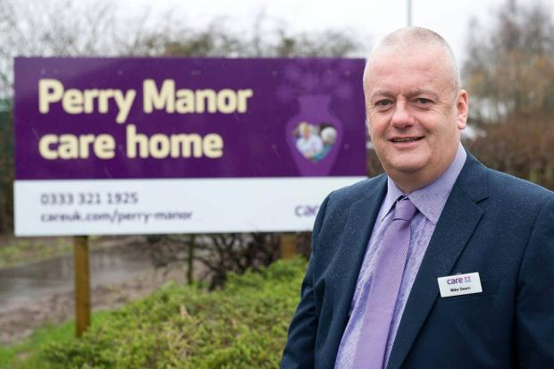 Manager of Perry Manor Mike Dearn