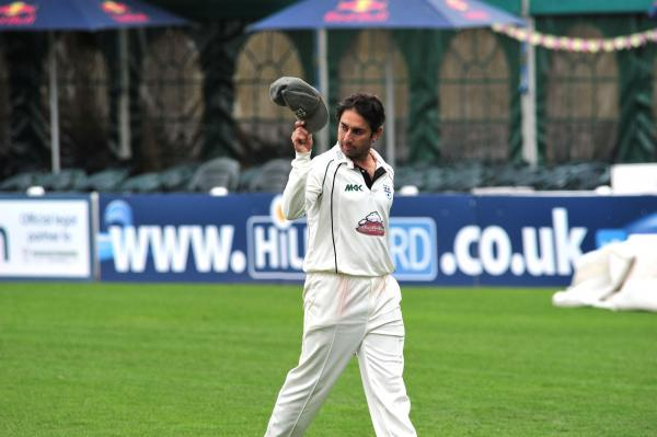 Malvern Gazette: SAEED AJMAL: In terrific form for Worcestershire.