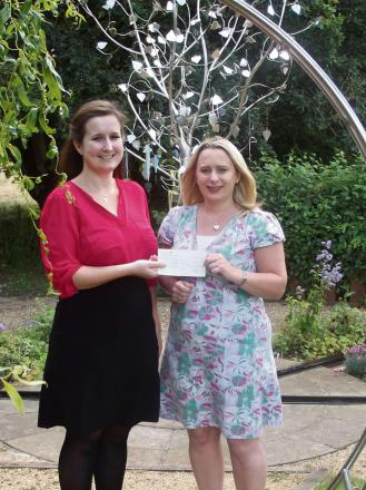 DONATE: Hannah Evans and Rachel Jones of Wills and Legal Services