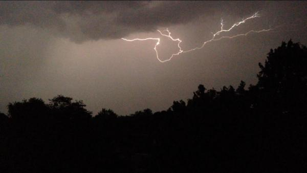 Worcestershire wakes up after being battered by thunder and lightning