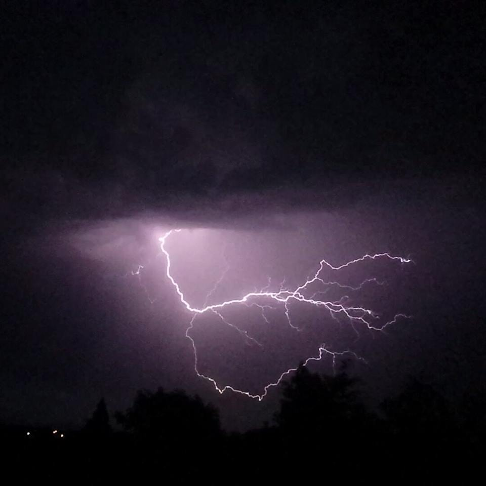 Malvern Gazette: Lightning by Bethany Hughes