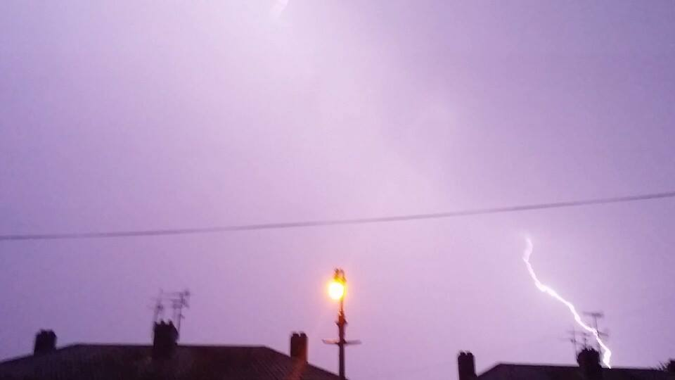Malvern Gazette: Lightning by Michael Beckley