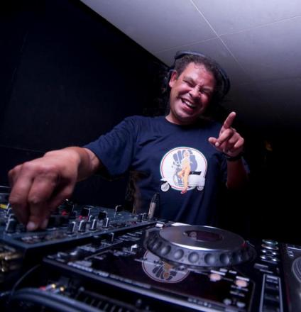 Craig Charles bears his funk and soul to crowd at Nozstock