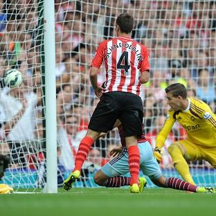 Morgan Schneiderlin scores his second goal of the after